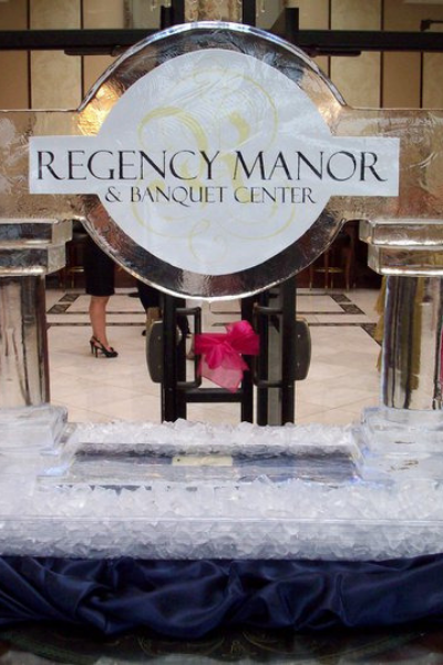 Click here to explore our logo ice sculptures gallery