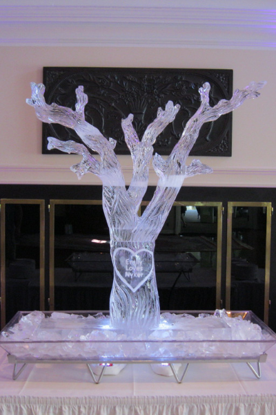 Click here to view our wedding ice sculptures gallery